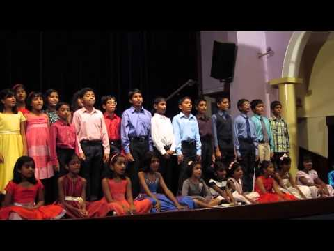 """A Whole New World"" - performed by the Junior Choir of Menaka de Fonseka Sahabandu"