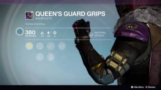 hunter queen s guard armor destiny rise of iron
