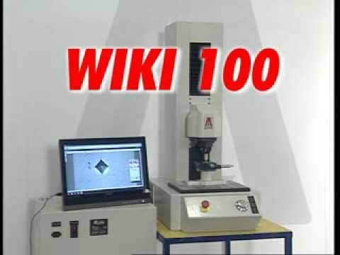 VICKERS BRINELL HARDNESS TESTER  DUROMETRO WIKI 100
