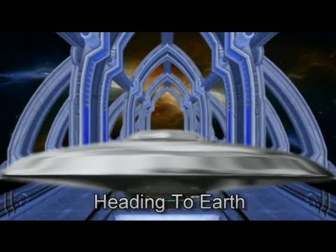 UFO's Heading To Earth - Animation and Music