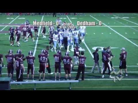 Medfield Warrior Football at Dedham (9-11-15)