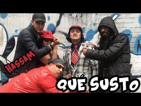 JBalvin/HASSAM/ QUE SUSTO/ PARODIA