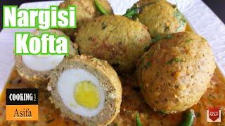 Nargisi Kofta curry | homemade restaurant-style scotch egg recipe| koftay ka salan | curry's recipe-