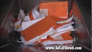 Shredding More Than Paper