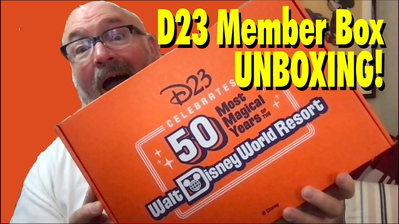Download What's In the D23 Gold Membership Gift 2021?