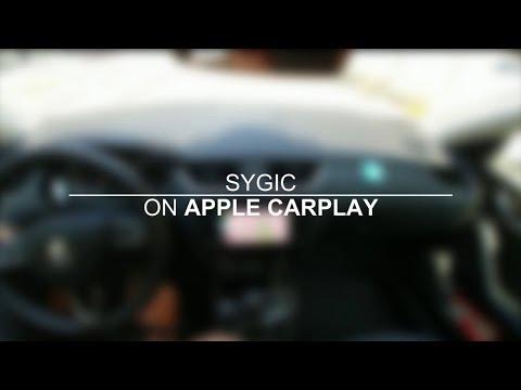 Say hello to Sygic on Apple CarPlay