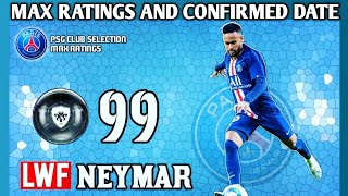 Upcoming Confirmed PSG club selection Maximum Rating pes20 mobile