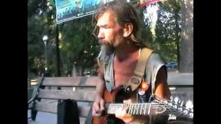 �������� ���� Родион Шинкарёв играет рок в Форосе. Супер талант! ������