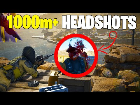 MOST Satisfying 1000m+ SNIPER HEADSHOTS! (Sniper Ghost Warrior Contracts 2) |