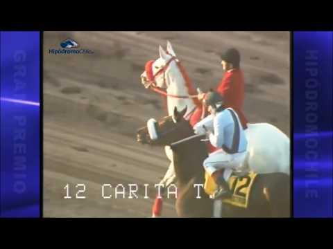 Gran Premio Hipodromo Chile 1988 -  Carita Tostada