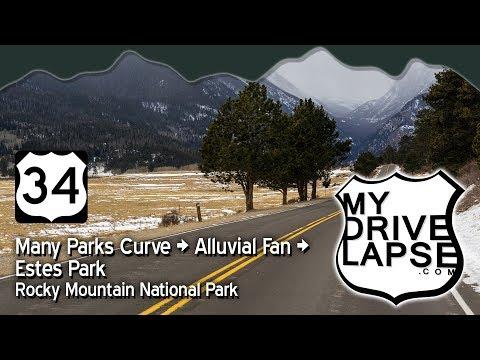 Rockies in Winter: Many Parks Curve to Estes Park, Colorado