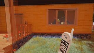 LLAMANDO AL VECINO POR TELEFONO Y ABRIENDO EL CERROJO CON 3 LLAVES | HELLO NEIGHBOR