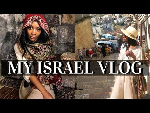 ZURI GOES TO ISRAEL! THE HOLY LAND WITH MY FAM | TRAVEL VLOG