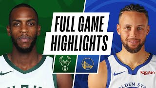 Game Recap: Warriors 122, Bucks 121
