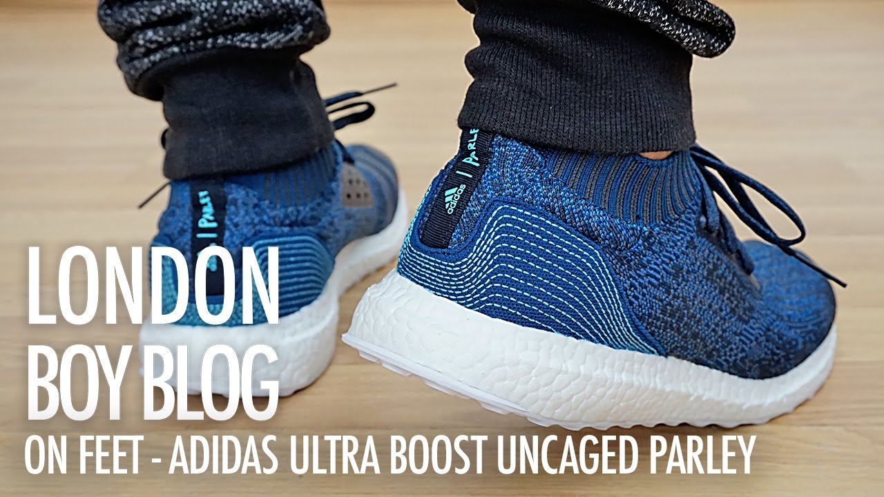 9b83a79019f On Feet - Adidas Ultra Boost Uncaged Parley - YouTube