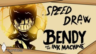 SPEED DRAW: Bendy and the ink machine