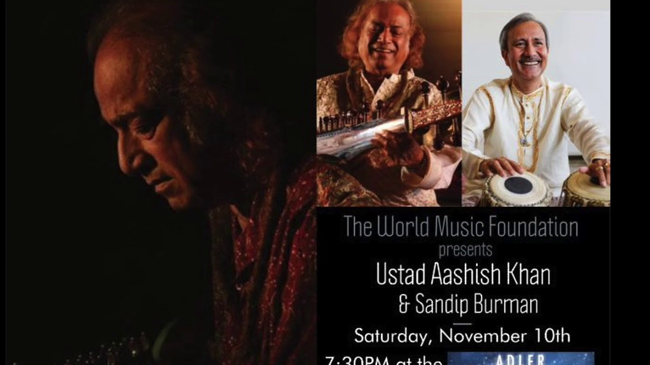 Ustad Aashish Khan & Sandip Burman Concert (Video comes to you from Hello NRI)