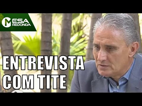 Entrevista Exclusiva Com Tite - Mesa Redonda (11/12/16)