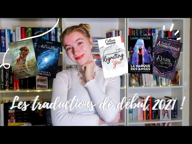 ILS ARRIVENT EN VF \: les traductions de début 2021 !