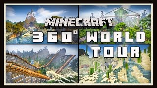 Minecraft:  4K- 360°  Video Tour Of Scarland And World Download