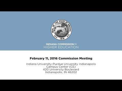 2016 CHE Commission Meeting 02 11 16