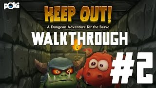 Demons Everywhere! Keep Out Game Walkthrough 02, Levels 6 - 10