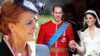 Sarah Ferguson on NOT Being Invited to Prince William and Kate Middleton's Wedding