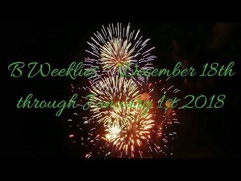 B Weeklies Fire Signs ~ December 18th thru January 1, 2018