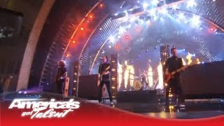 "Fall Out Boy - ""My Songs Know What You Did In the Dark"" AGT Performance - America"