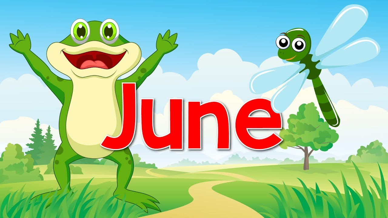 June Fun Song For Kids Month Of The Year Jack