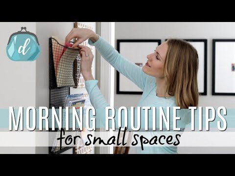 Small Space Morning Routine Tips (with kids!)