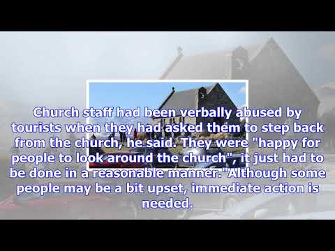 Iconic church of good shepherd gets protection from tourists