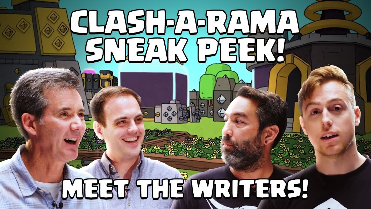 Clash-A-Rama: Meet the Writers! (Clash of Clans)