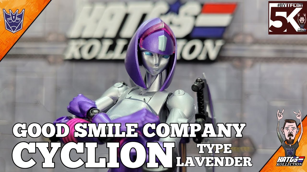 Good Smile Company Cyclion Type Lavender Review by Kato's Kollection