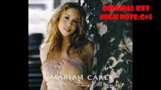 Mariah carey NEVER hit G#5 in subtle invitation (comparison)