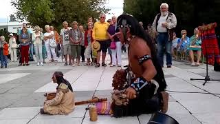 Индеец последний из Могикан шокирующее видео HD