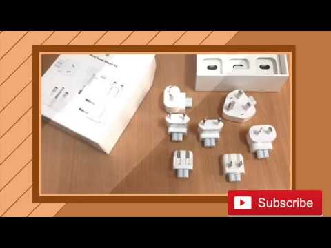 How To Use, Unboxing And Overview - Apple World Travel Adapter Kit