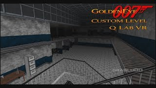 GoldenEye 007 N64 - Q-Lab VR  - 00 Agent (Custom level)