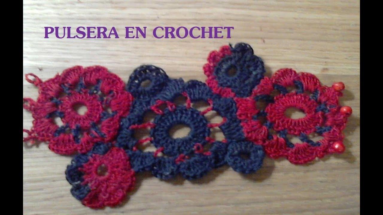 676baee5e0c9 DIY: PULSERA EN CROCHET by MARCELA OVALLE