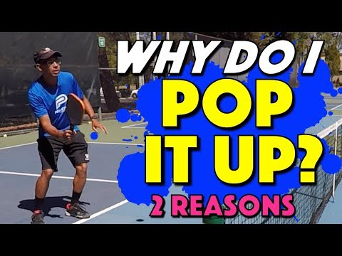 Why Do I Pop Up The Ball? | 2 reasons why the ball is popping up on you