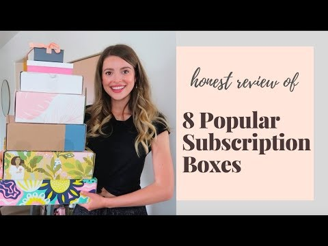 I ~Honestly~ Review 8 Popular Subscription Boxes