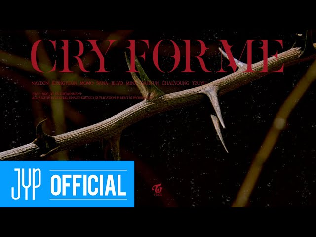 """TWICE """"CRY FOR ME"""" (Official Audio)"""