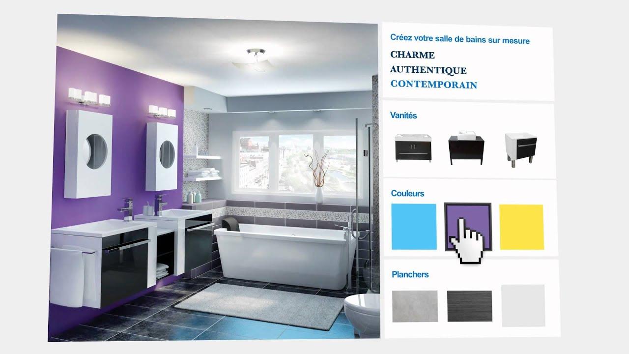 tendances pour la salle de bains id es conseils ronamag youtube. Black Bedroom Furniture Sets. Home Design Ideas