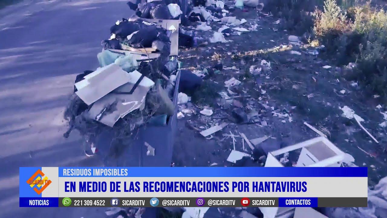 Hantavirus: la basura en Villa Garibaldi sigue siendo un problema