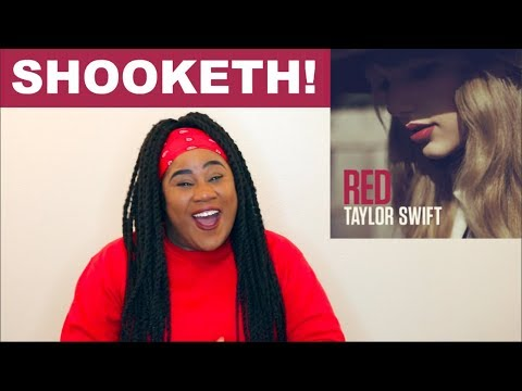 Taylor Swift  Red Album REACTI