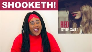 taylor swift   red album reaction