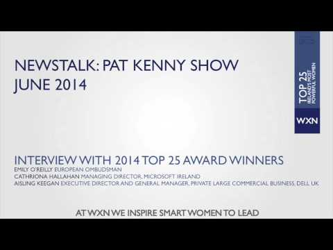 Newstalk: Pat Kenny Show - An Interview with Top 25 Award Winners
