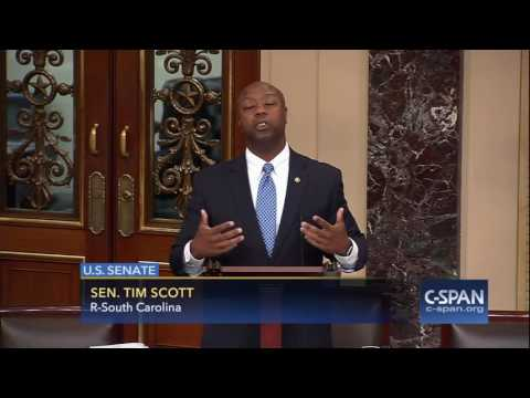 Sen. Tim Scott (R-SC) three speeches on Race Relations (C-SPAN)