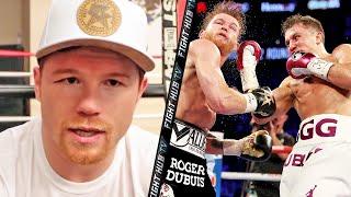CANELO CLAIMS GENNADY GOLOVKIN'S POWER IS 8-9 OUT OF 10, REACTS TO GETTING HIT BY GGG