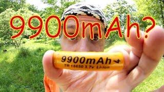 9900mAh? Skutečná kapacita Li-ion akumulátoru 9900mAh